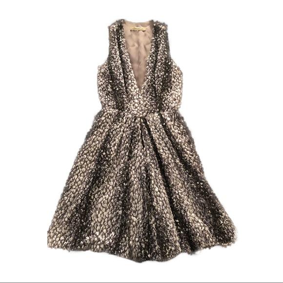order best choice best price Balenciaga silk lined feather dress